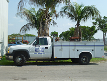 South Florida New Holland Service Truck